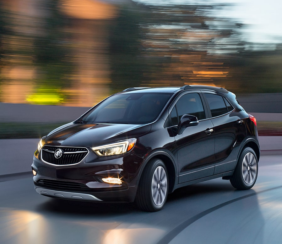 Image of the 2018 Buick Encore compact luxury SUV.