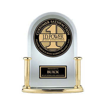 Buick 2017 JD Power Award