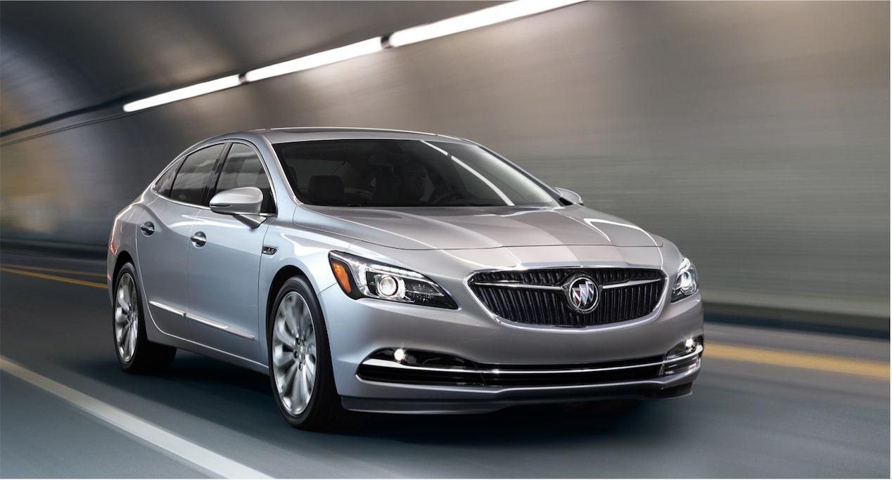 Image for offers featruing the 2018 Buick LaCrosse full size luxury sedan.