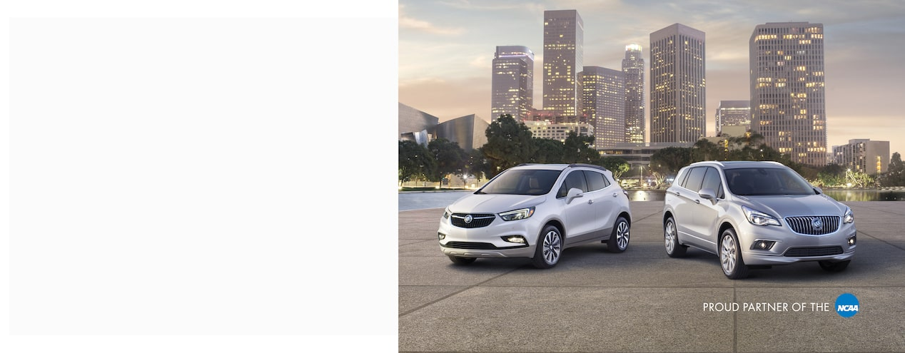 Homepage masthead featuring the 2018 Buick Enclave mid-size luxury SUV.