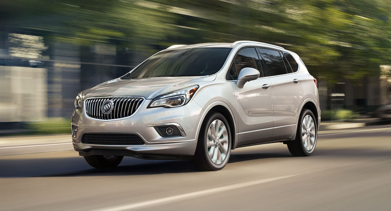 Qualified buyers can drive home the 2018 Buick Envision compact luxury SUV at 0% APR for 5 years on most models.