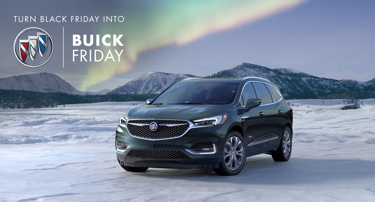 Turn Black Friday into Buick Friday