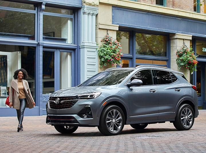 2020 Buick Encore GX Front Driver Side View