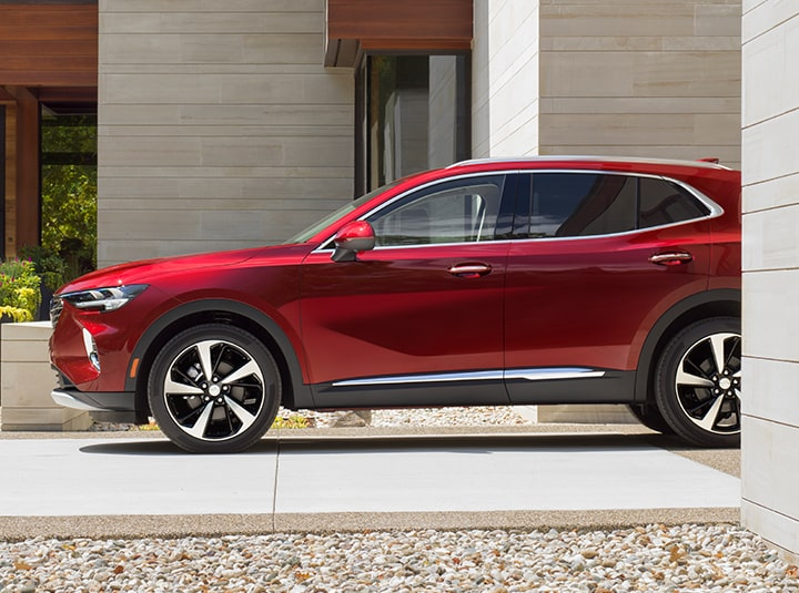 2021 Buick Envision Front Driver Side View