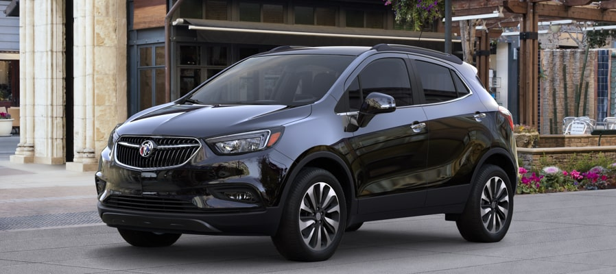Get 18% below MSRP on most 2018 Buick Encore small luxury SUV models.