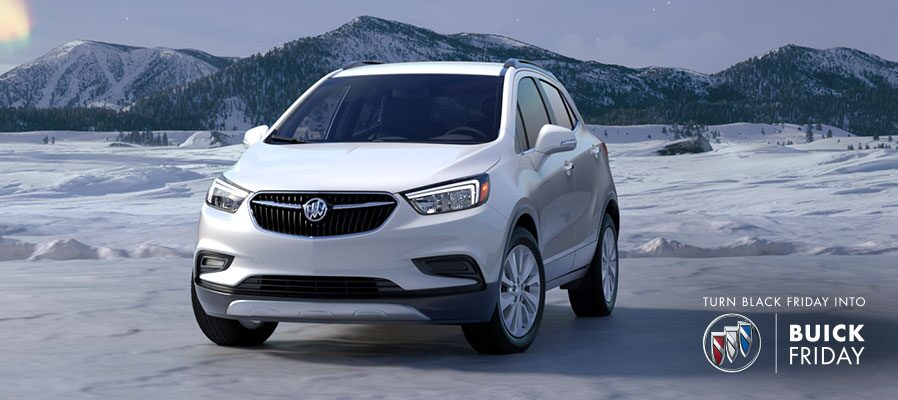 Combine $4,750 Purchase Allowance with Price Reduction Below MSRP on most 2018 Buick Encore small luxury SUV models when you finance through GM Financial.