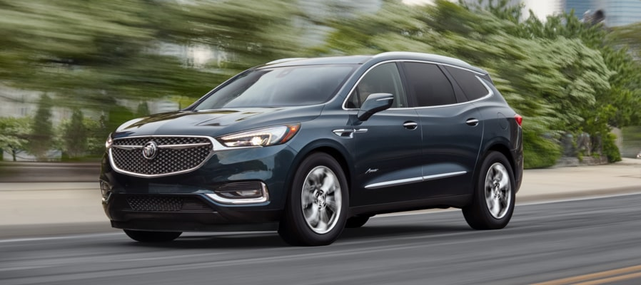 2019 Buick Enclave driving action shot