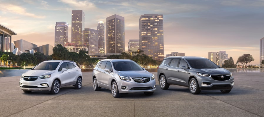 2019 Buick Encore, Envision and Enclave