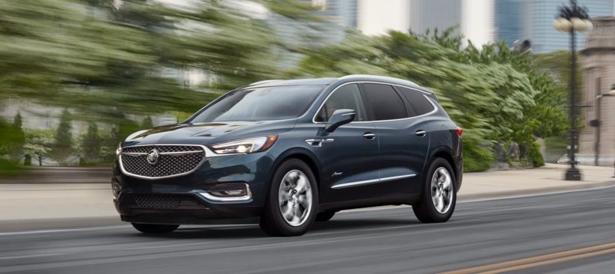 2019 Buick Enclave Mid Size Suv Front Side Exterior