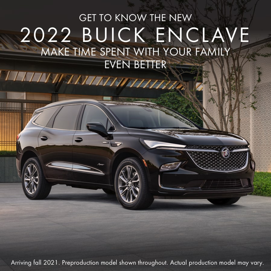 Get to Know the New 2022 Buick Enclave | Make time spent with your family even better.