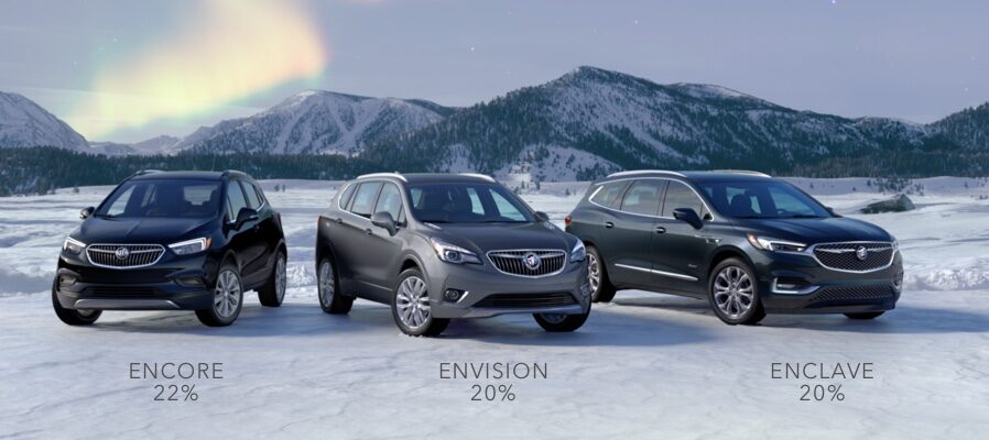 Buick SUV Lineup: Encore, Envision, and Enclave