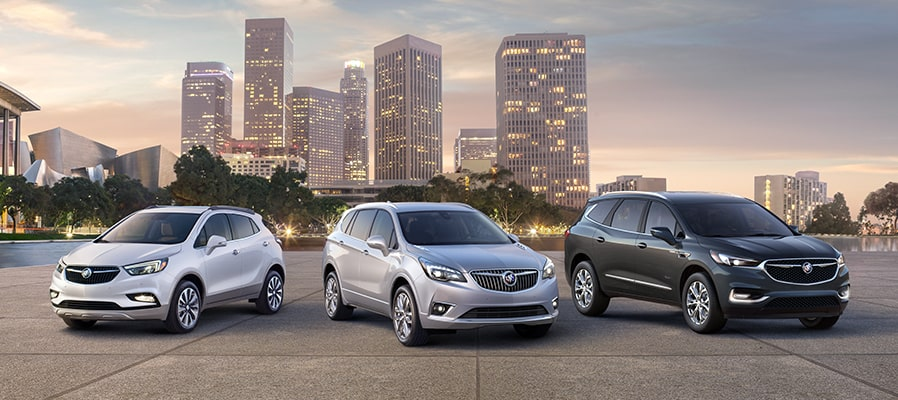 2019 Buick vehicle lineup