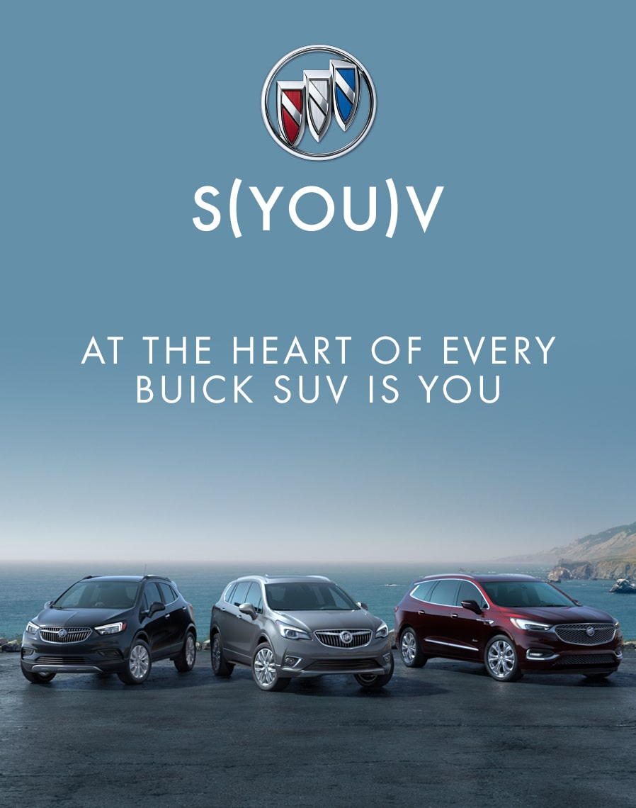 Buick SUV Lineup: S-You-V