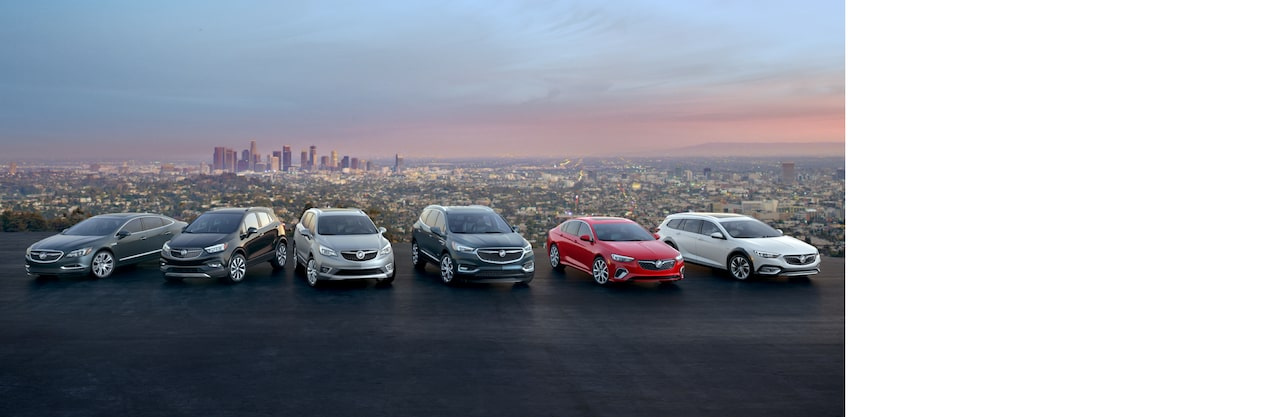Buick Vehicle Lineup