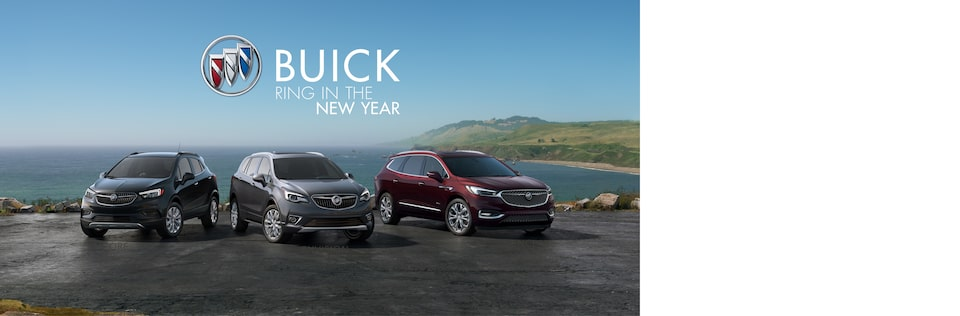Buick Ring in the New Year | SUV Lineup: Encore, Enclave, Envision
