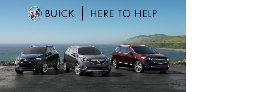 Buick Here to Help | SUV Lineup