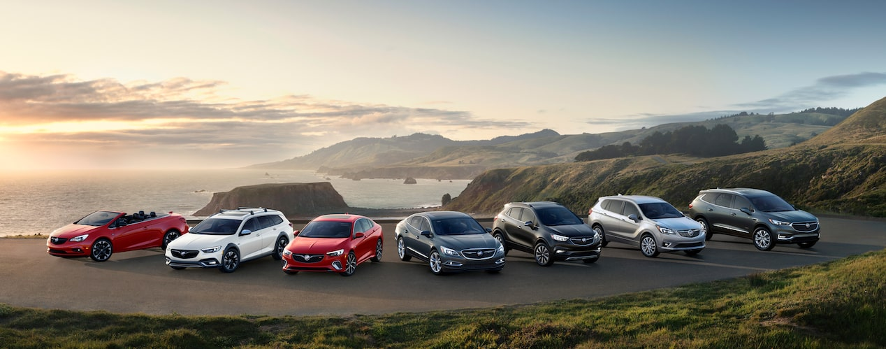 2019 Buick Full Vehicle Line Up