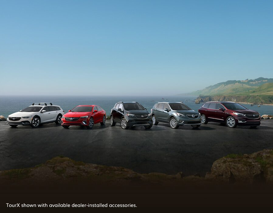 2020 Buick Model Lineup Wide Angle View