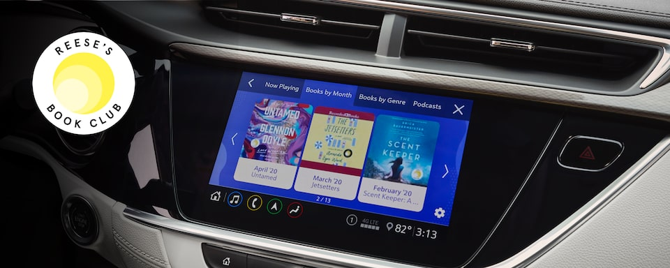 2020 Buick: Reese Witherspoon Book Club in Infotainment System