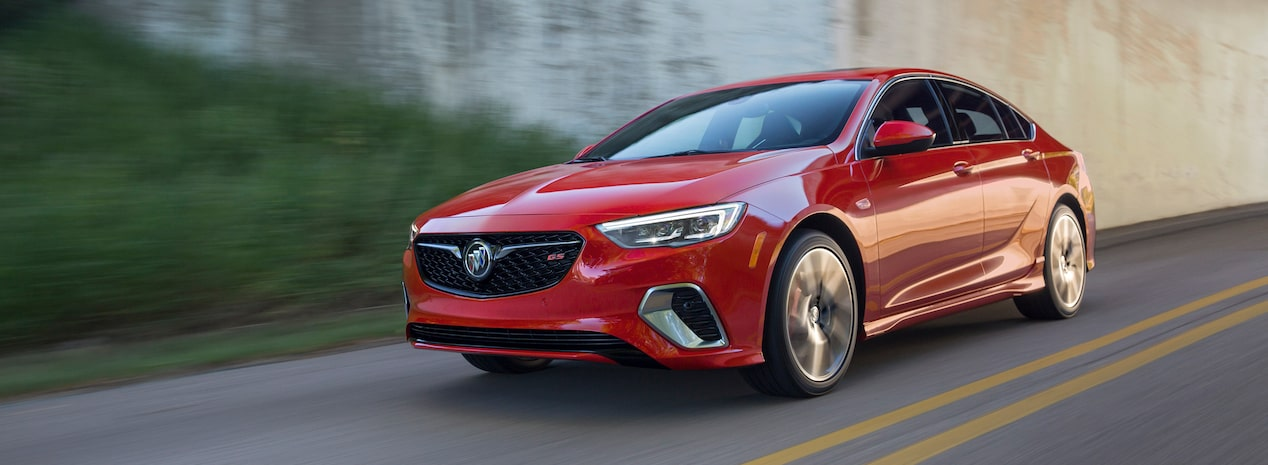 2019 Buick Regal GS Front Side Exterior