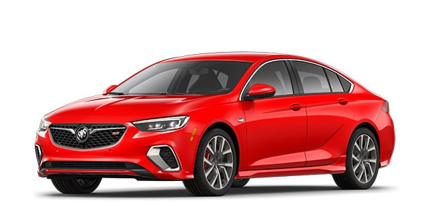 2019 Buick Regal GS in Sport Red