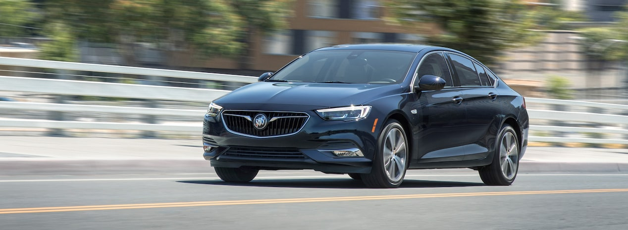 2019 Buick Regal Sportback Front Side Exterior