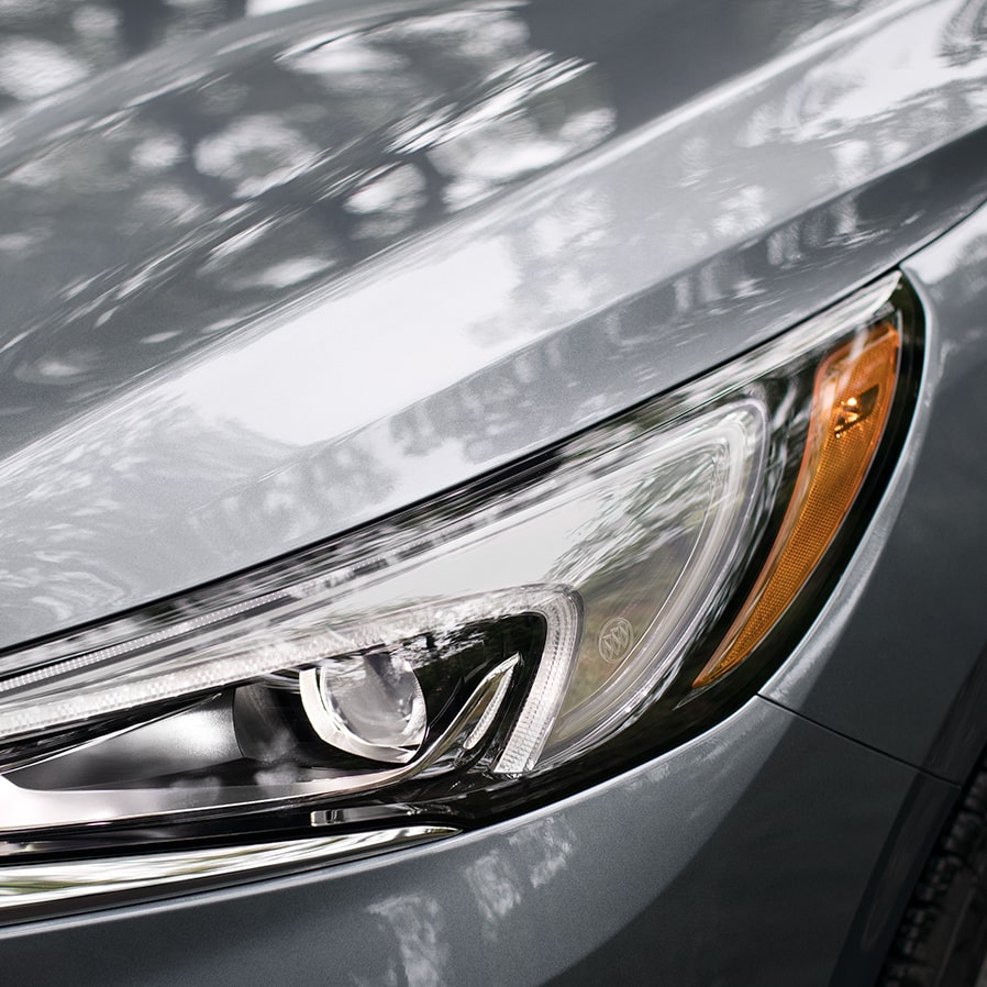 2020 Buick Head Light Close Up