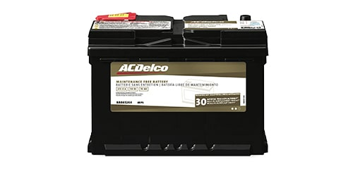 ACDelco Gold Battery with 30-Month Warranty