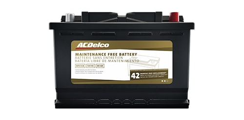 ACDelco Gold Battery with 42-Month Warranty
