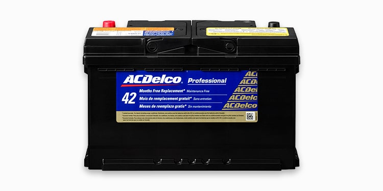 ACDelco Professional Series Gold Battery