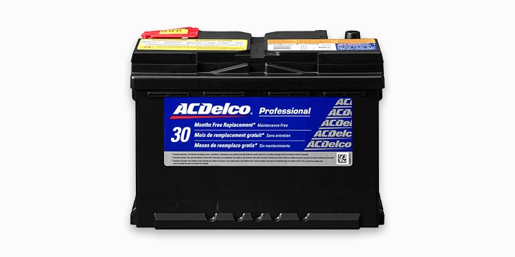 ACDelco Professional Series Silver Battery