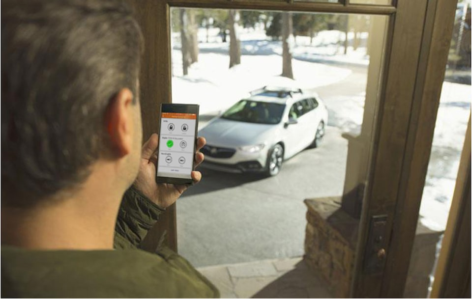 myBuick App Remote Start Vehicle from Smartphone