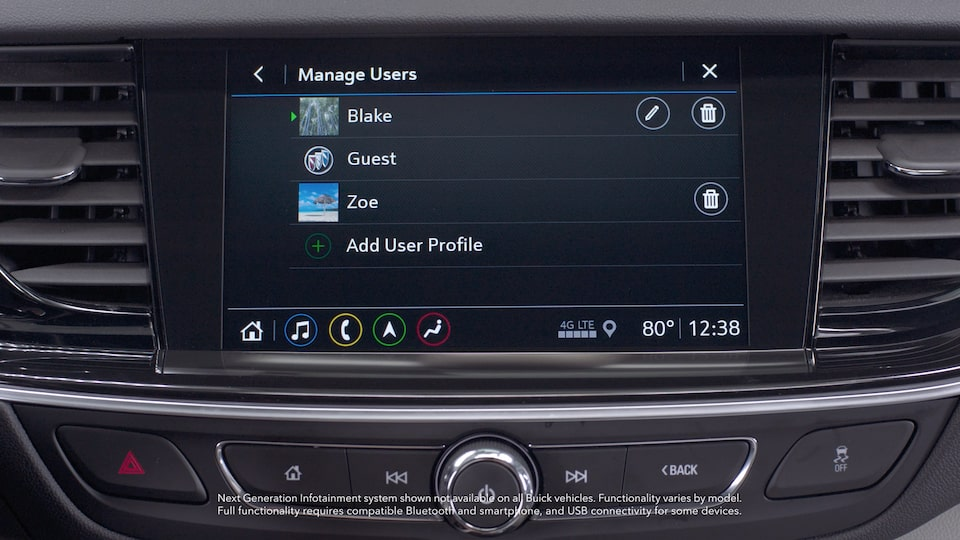Buick Infotainment Setup Video