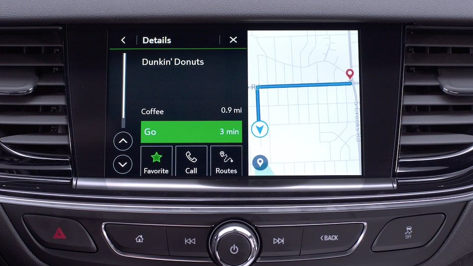Buick Connected Navigation