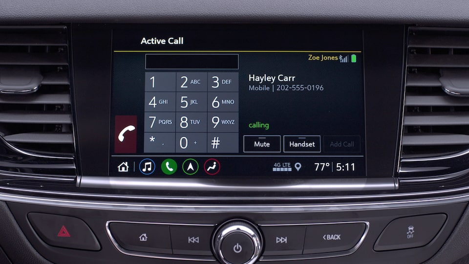 Buick Hands-Free Voice Call