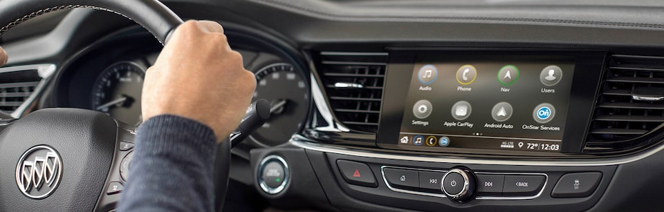 Buick Front Dash Technology