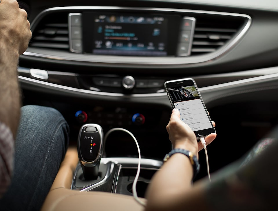 Buick: myBuick App Smartphone Connectivity Features