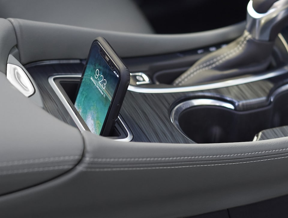 Buick Wireless Smartphone Charging