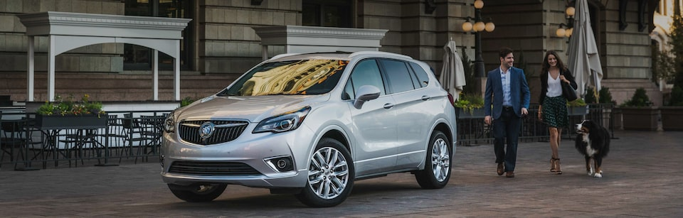 Buick Envision Front Side Exterior