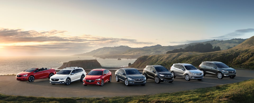 Discover Buick Vehicle Lineup