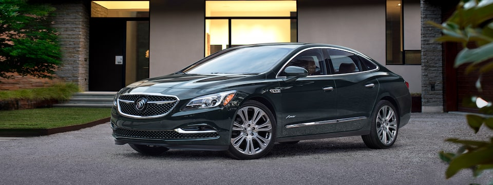 Buick LaCrosse Luxury Sedan Front Side View