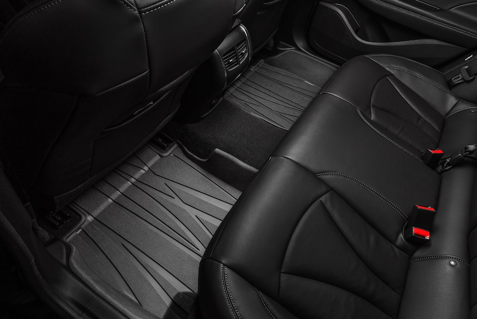 Buick Luxury Interior Rear Seat View