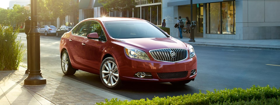 Buick Verano Luxury Sedan Front Side View
