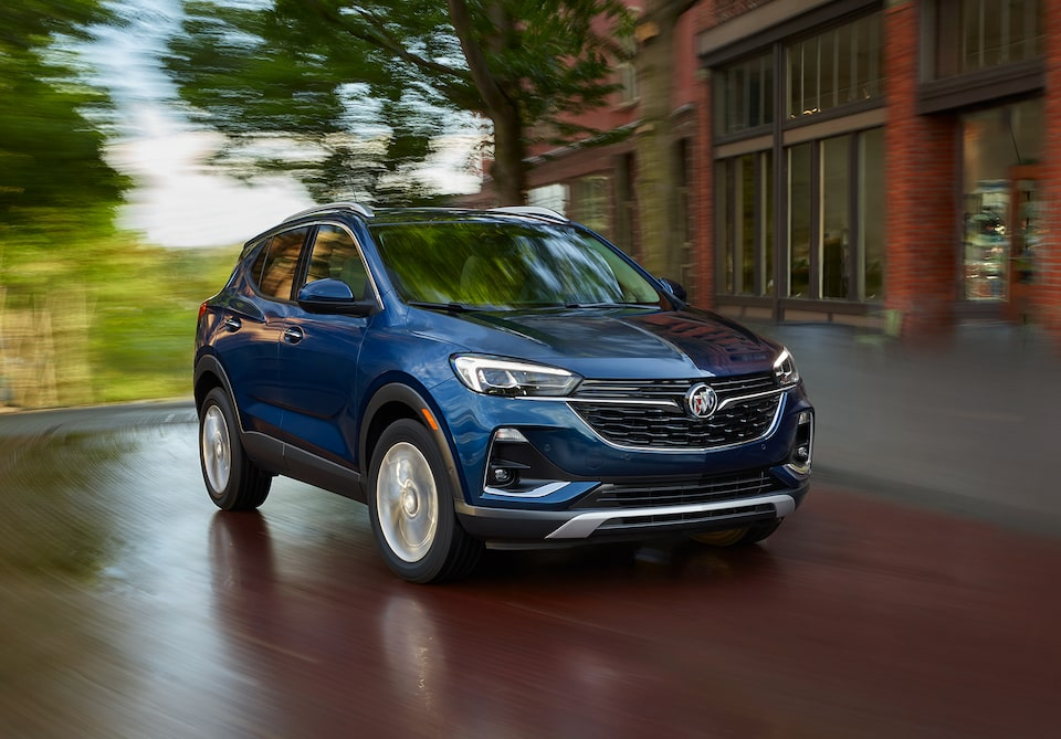 2020 Buick Encore GX Small SUV Front Side Exterior