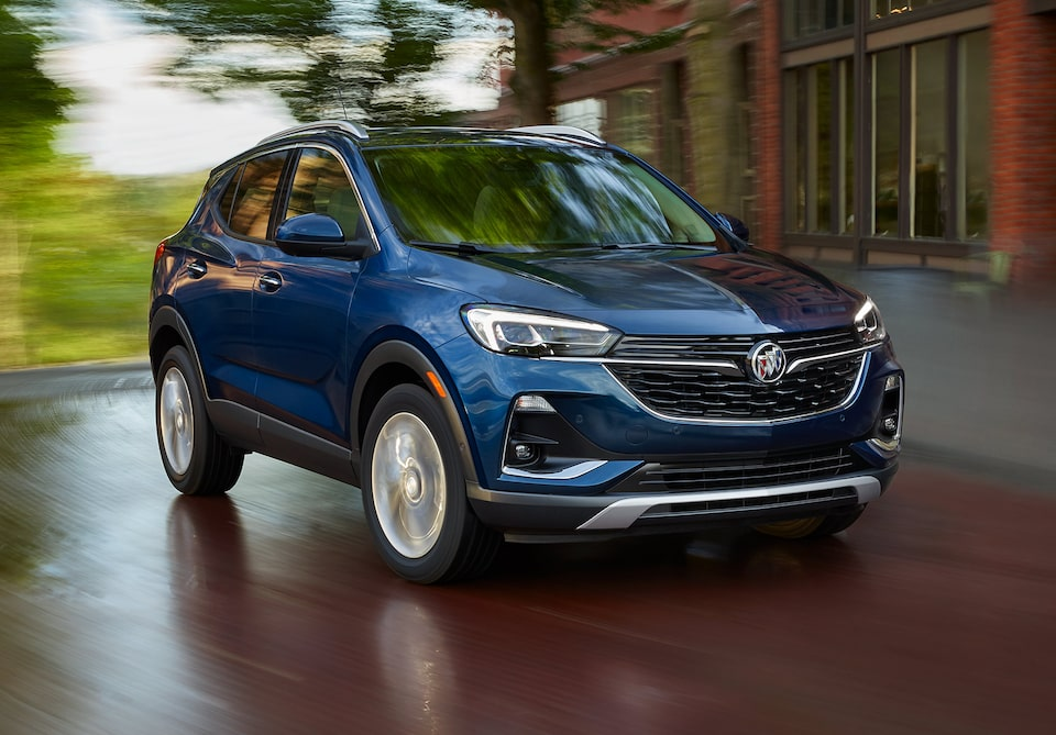 2021 Buick Encore GX Small SUV Front Side Exterior