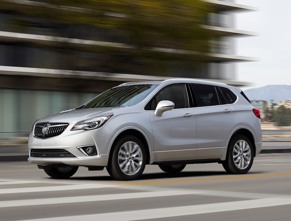 Buick Envision Side Exterior