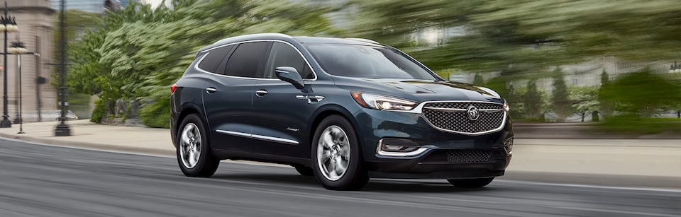 Buick Enclave Front Side Exterior