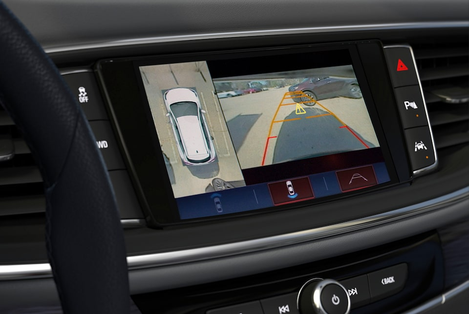 Buick Rear View Camera & Birds-Eye View Camera