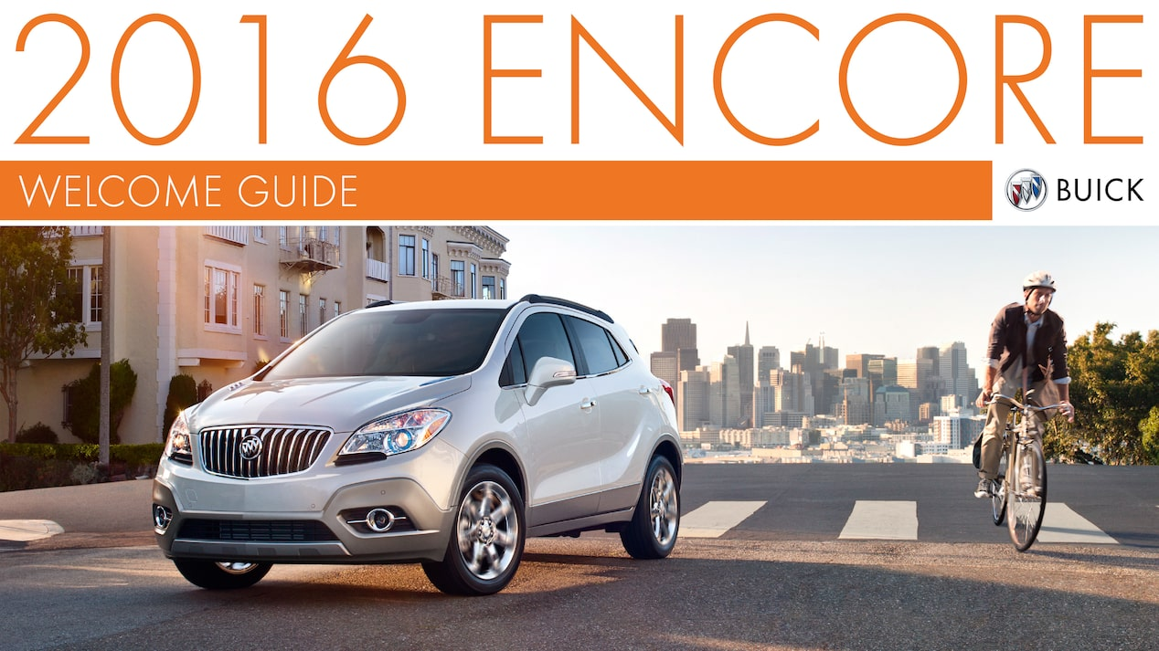 2016 ENCORE WELCOME GUIDE COVER