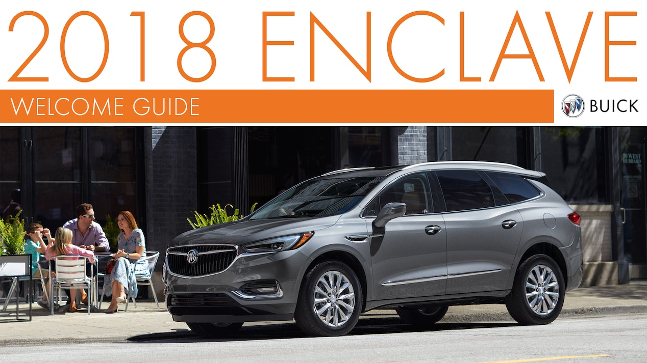 2018 ENCLAVE WELCOME GUIDE COVER